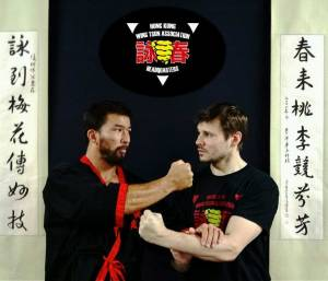 Sifu Chris and Brett