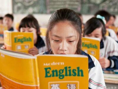 chinese kids learning english